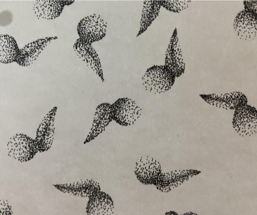 Motif pointillisme